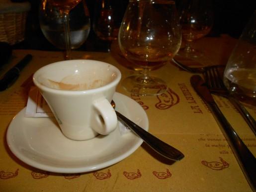 Espresso im La Lumera